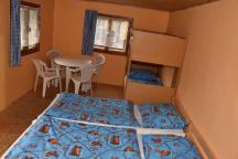 4L chatka (kuchynka,lednice,WC, terasa)