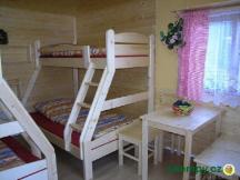 Chaty A - s novým dřevěným nábytkem