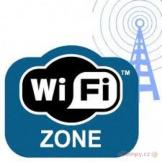 Wifi zdarma v celém areálu