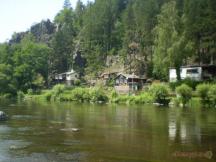 Příroda v  okolí tábořiště