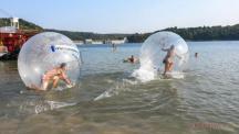 Vranovská pláž - bumperball