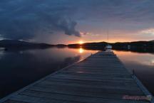 Kemp Jestřábí - jezero