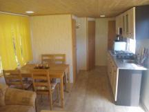 Mobilní dům kuchyň